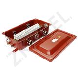 Коробка клеммная КЗНС-16 УХЛ1,5 IP65 латун. вводами zeta30316 Зэта