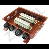 Коробка с зажимами наборными КЗНС-48 У2 IP54 пластиковый ввод zeta30358 Зэта