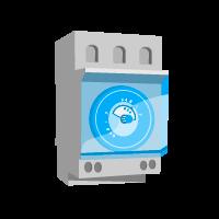 Устройства контроля (реле, датчики и акустические приборы)