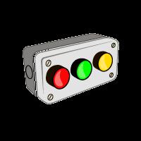 Кнопки, посты и переключатели, светосигнальная аппаратура