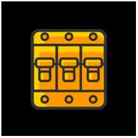Выключатели автоматические и предохранители, УЗО и дифф. Автоматы