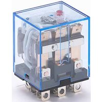Промежуточное реле 3 конт. с инд. LED 10А 24В AC ПР-