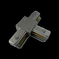 Коннектор для шинопровода PTR CT-GR T-образный серый .5023888 Jazzway