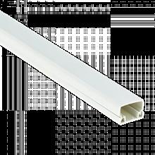 Кабель-канал PROxima 15х10мм белый kk-15-10 EKF