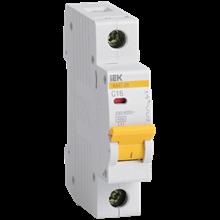 Выключатель модульный ВА47-29 1п 16А 4,5кА х-ка C MVA20-1-016-C IEK