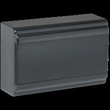 Корпус навесной ЩРН-П-12 PRIME 12мод. IP41 пластик черный