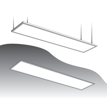 Фото Панель LED DL 45Вт 6500K 1200мм опал ESTARES