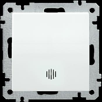 Фото Выключатель одноклавишный инд. 10А белый (ВС10-1-1-Б) BOLERO IEK