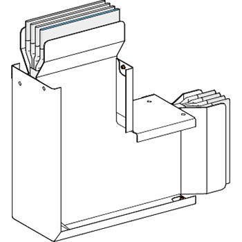 SE Canalis Секция угловая вертикальная (KTC2000LC4B)