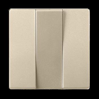 Набор клавиш для выключателя 3кл (шампань) / WL11-SW-3G-CP / a040924
