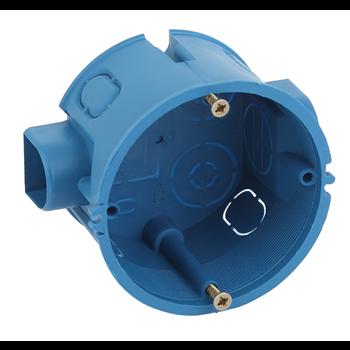 Коробка установочная 1-постовая КУТС IP20 68х45мм синяя Б0039186 ЭРА S3 - Энергия света