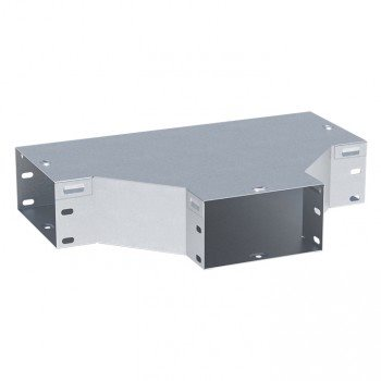 Ответвитель T-образный HDZ 80х100мм светло-серый EKF