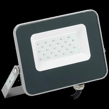 Фото IEK Прожектор LED СДО 07-20B blue IP65 серый IEK