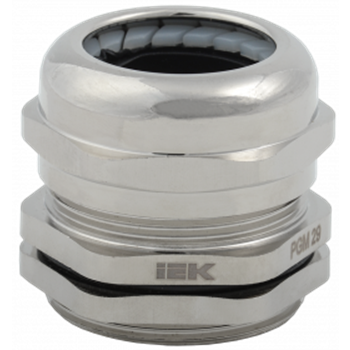 Сальник PGM 29 диаметр кабеля 18-25мм IP68 светло-серый IEK