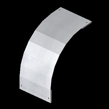 Фото DKC Крышка на угол вертикальный внешний 90 градусов 100х300, R600, 1,0 мм, AISI 304