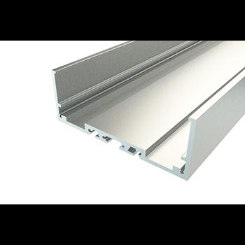 Профиль накладной алюминиевый 7427-2, 2 метра 146-248 REXANT