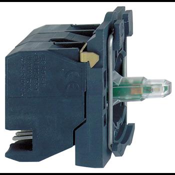 XB5 Корпус со светосигнальным блоком ZB5AW0G154