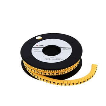 Маркер кабельный 2,5 мм2 'C' 1000 шт. ЕС-1 EKF plc-KM-2.5-C ЭКФ
