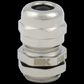 Фото Сальник PGM 7 диаметр кабеля 3-6мм IP68 светло-серый IEK