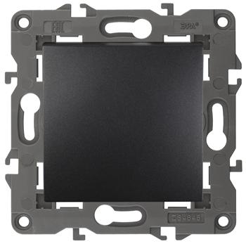 Переключатель 1-клавишный промежуточный Elegance 10A антрацит Б0034261 ЭРА S3 - Энергия света