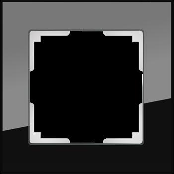 Рамка на 1 пост (черный) / WL01-Frame-01_Favorit/ a031797