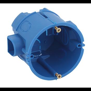 Коробка установочная 1-постовая КУТС IP20 68х60мм синяя Б0039187 ЭРА S3 - Энергия света