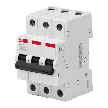 Выключатель авт. 3п 20А х-ка C 4,5кА BMS413C20 2CDS643041R0204 АББ 2CDS643041R0204