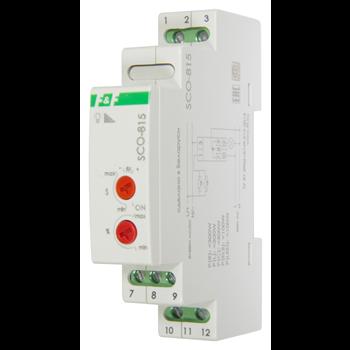 Фото Регулятор освещенности SCO-815 , для всех типов ламп, напряжение входа управления от 8-230В AC/DC,