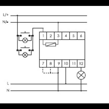 Фото Регулятор освещенности SCO-815 , для всех типов ламп, напряжение входа управления от 8-230В AC/DC, изображение №2