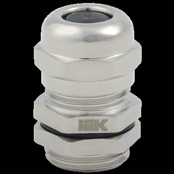 Сальник PGM 9 диаметр кабеля 4-8мм IP68 светло-серый IEK