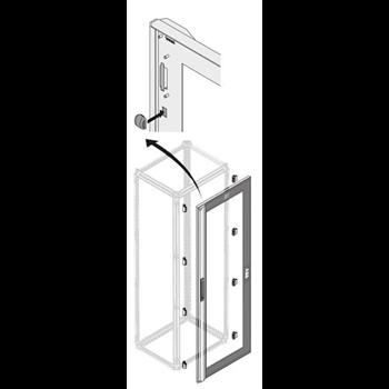 Дверь стек.IP40 24 DIN H=2000мм W=800мм 1STQ007340A0000 ABB