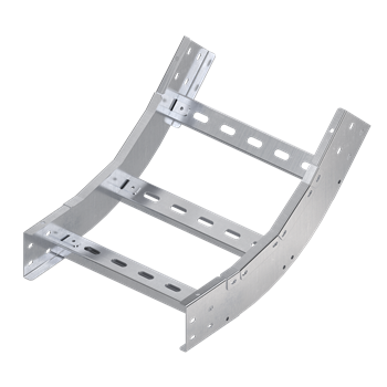 Фото DKC Угол вертикальный внутренний 45 градусов 150х750, R600, 1,5 мм, AISI 304