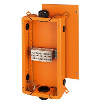 FK 6505 - Коробка ответвительная для пожароопасных зон, предел огнестойкости Е90, IP 65, размер 285х 60001071 Hensel