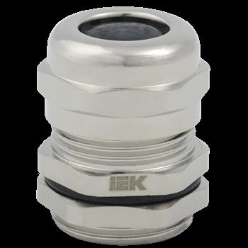 Фото Сальник PGM 13,5 диаметр кабеля 6-12мм IP68 светло-серый IEK