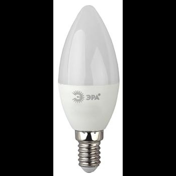 Лампа LED E14 7Вт 2700K 560Lm 220В свеча мат. Эра S3 Б0020538 ЭРА S3 - Энергия света