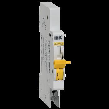 Контакт состояния КС47-150 для ВА47-150 230В 2,5мм2 IP20 IEK