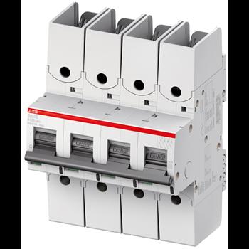 Выключатель автоматический 4п S804S UC 25А х-ка K R