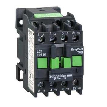 EasyPact TVS Contactors E2 Контактор 1НЗ 6А 400В AC3 110В 50Гц LC1E0601F5 Schneider Electric