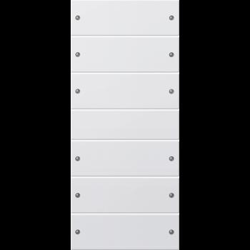 Накладка для выключателей/диммеров/жалюзийных переключателей/таймеров 218603 GIRA