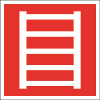 """Знак безопасности NPU-1818.F03 """"Пожарная лестница"""""""