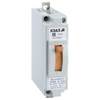 Выключатель ВА21-29М-140010-5А-6Iн-240DC-У3- 100599 КЭАЗ
