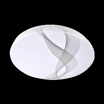 Фото Светильник LED PPB WAVE 32Вт 6500K 2450Lm IP20 D320 белый .5024960 JAZZWAY