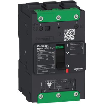 Выключатель автоматический Compact NSXm 3P 25kA TM100D Elink LV426207 Schneider Electric