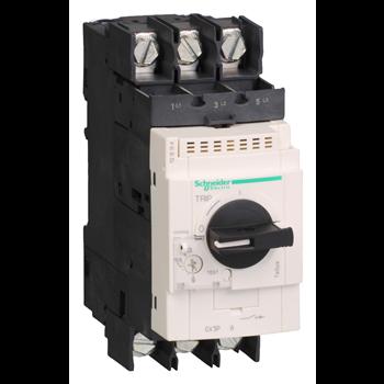 Выключатель автоматический GV3 с комбинированным расцепителем 32A с зажимами под кольцевой наконе GV3P326 Schneider Electric