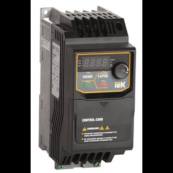 Преобразователь частоты CONTROL-C600 380В, 3Ф 0,40 kW IEK