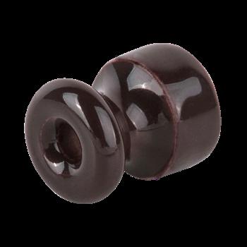 Фото Комплект изоляторов с крепежом 10 шт. (коричневый) Ретро / WL18-17-01 / a036804