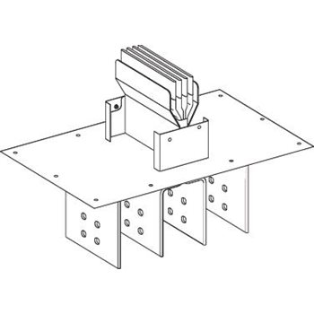 Canalis Секция присоединительная к трансформатору №1 (KTA0800ER51)