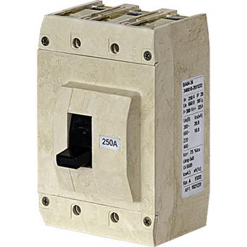 Выключатель ВА04-36-841110-20УХЛ3 250А, 220В уст. 800А 1031725 Контактор