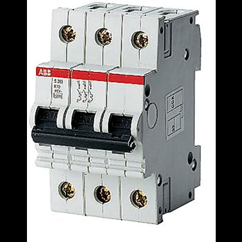 Выключатель автоматический 3п S283 UC 1,6А х-ка C
