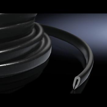 DK Защита кромок, черная комплект 10м 7072100 Rittal